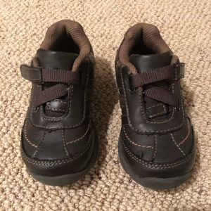 Okie Dokie toddler boy brown shoe
